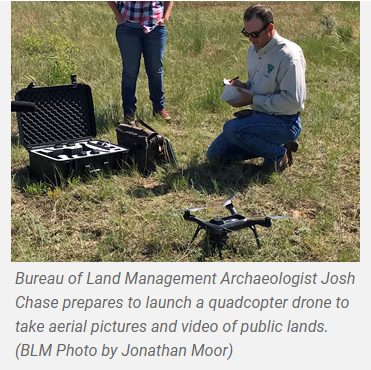 Mapping drone to fly over July Fire area